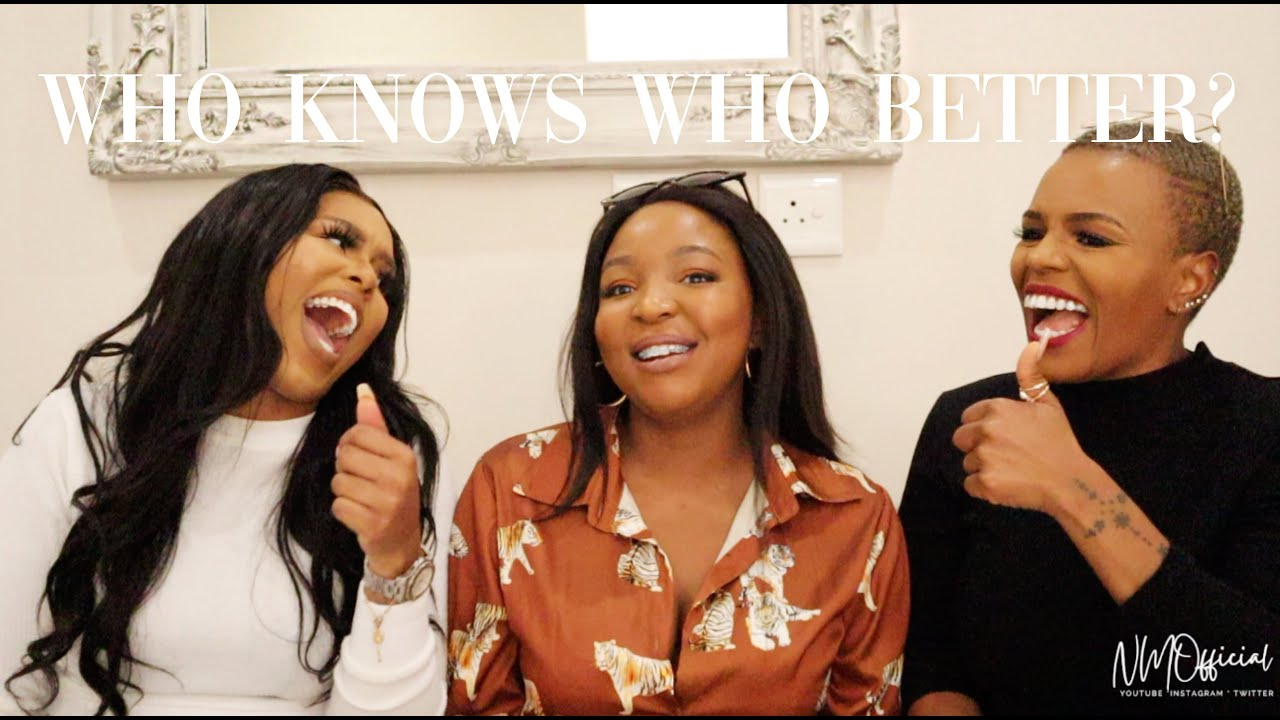 WHO KNOWS WHO BETTER? SISTER EDITION FEATURING JUST KATLEHO & PALESA DOLO | CHILL & LAUGH WITH US