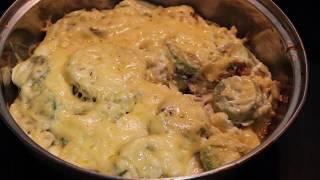 ВКУСНЕЙШАЯ Запеканка из кабачков с курицей. Как приготовить запеканку из кабачков?!