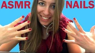 ASMR - Manicure / Nail Polish / Picking Off Nail Polish