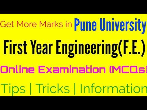 FE Online Examination Pune University, tips, helpful information, get more  marks, SPPU Phase-I & II