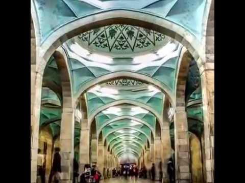 Tashkent Metro - Travelling in an Art Galery