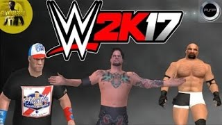 [Hindi] Download WWE 2K17 PSP By [Falcon's Arrow]  With Best Ppsspp Settings