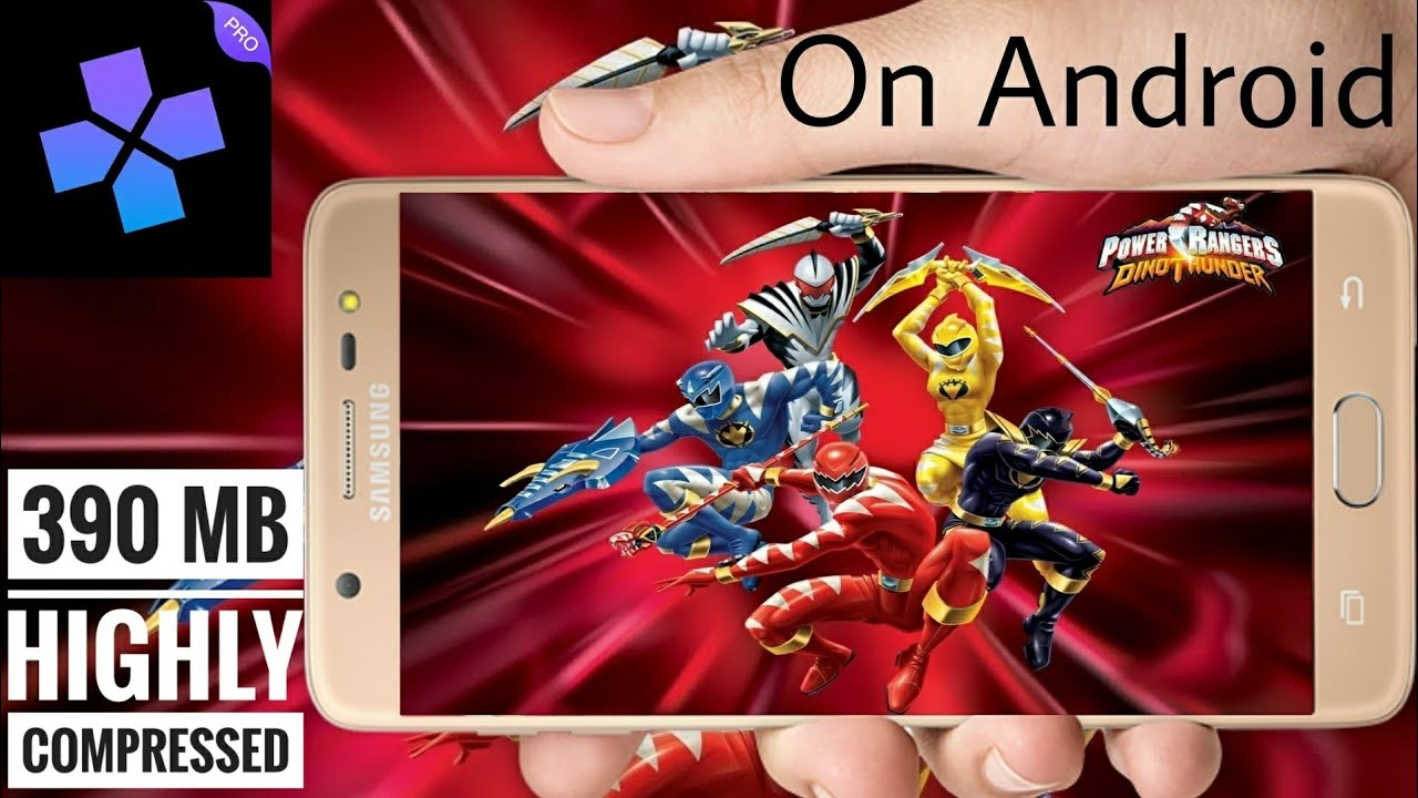 Download Power Rangers Dino Thunder On Any Android Device 350 Mb Highly Compressed In Hindi Youtube
