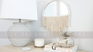 DIY DECORATING PROJECTS|IDEAS