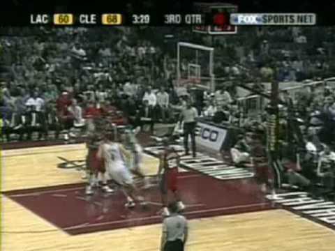 LeBron James - Top 10 Plays 2003-2004