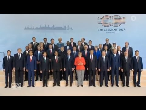 G20 SUMMIT  All Country Leaders Group Photo Session