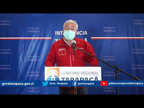 Punto de prensa 09 de agosto de 2020 - Gobierno Regional de Tarapacá