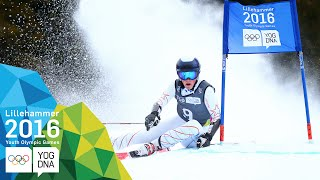 Giant Slalom - River Radamus (USA) wins Men