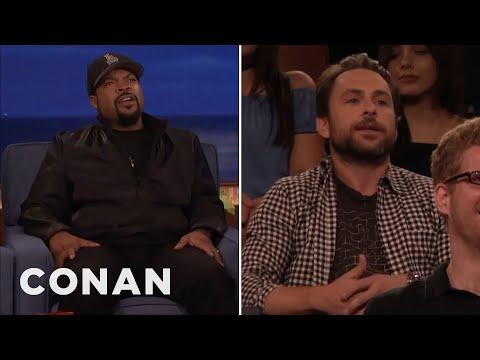 Ice Cube Vs. Charlie Day   CONAN on TBS