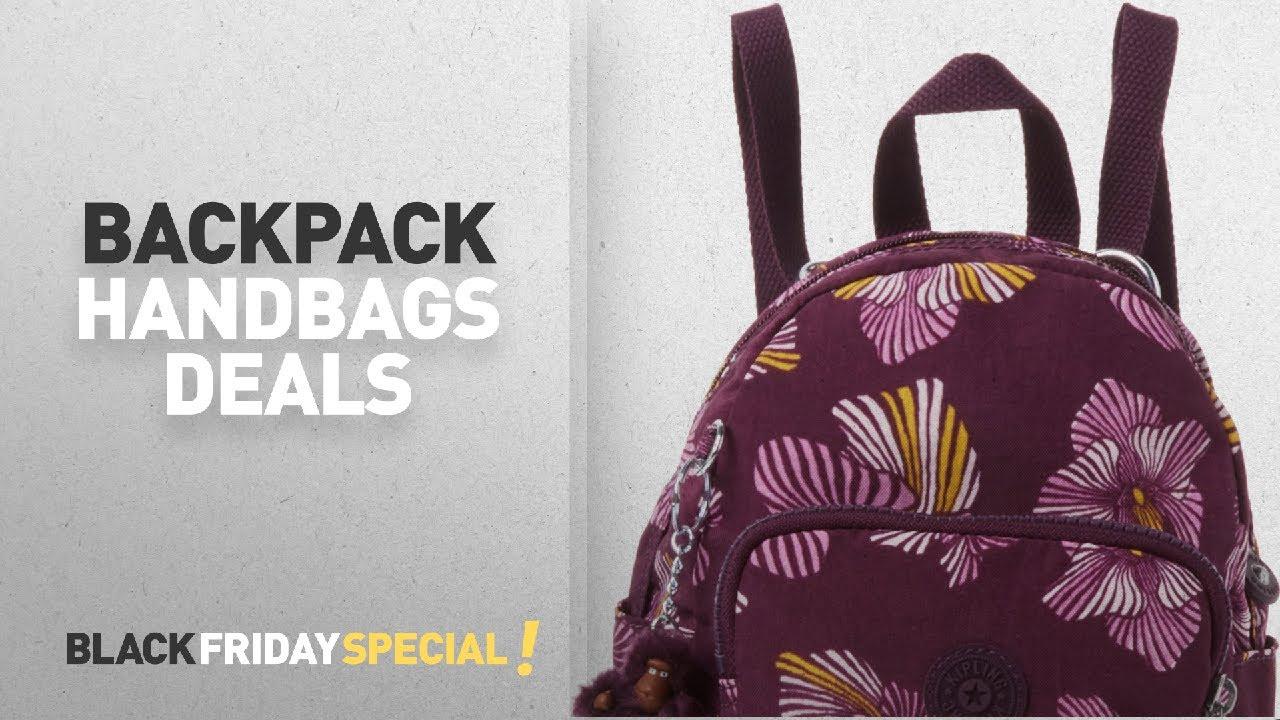 Top Black Friday Women Backpack Handbags Kipling Mini Backpack Women S Mehrfarbig Herridage