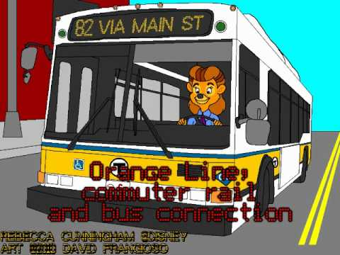 MBTA Bus - Forest Hills Station - Lower Busway - Orange Line, commuter rail and bus connection
