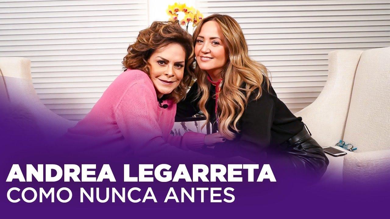 Download Andrea Legarreta, lo que NUNCA HABÍA DICHO antes  | Mara Patricia Castañeda