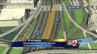parking lot on ramp closing downtown for i 4 ultimate project