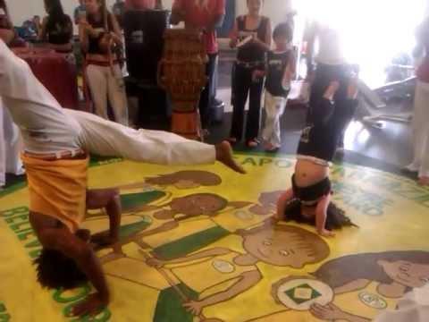 Capoeira Girl (3 year old)