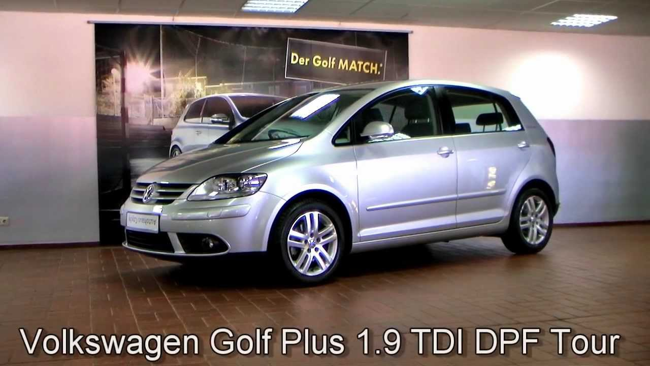 volkswagen golf plus 1 9 tdi dpf tour 2007 reflexsilber metallic 8w502065. Black Bedroom Furniture Sets. Home Design Ideas