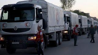 استنكار دولي وأممي من استهداف قافلة مساعدات أممية في حلب