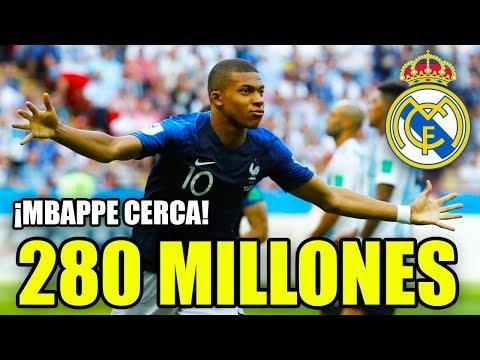 ¡MBAPPÉ PUEDE LLEGAR POR 280 MILLONES AL MADRID! | FICHAJES REAL MADRID VERANO