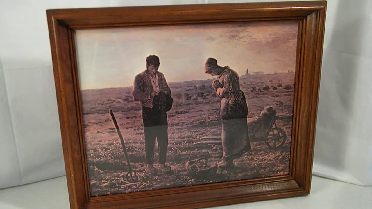Farmer couple painting