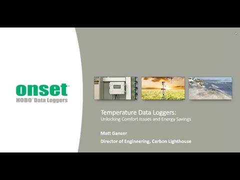 HOBO Temperature Data Loggers: Unlocking Comfort Issues and Energy Savings