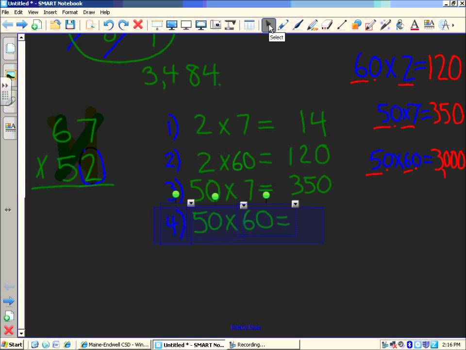 Multiplication - 4 Ways to Multiply Multi-Digit Numbers 4-NBT-1, 4 ...