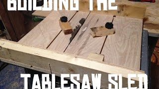 Building An Easy Crosscut Sled
