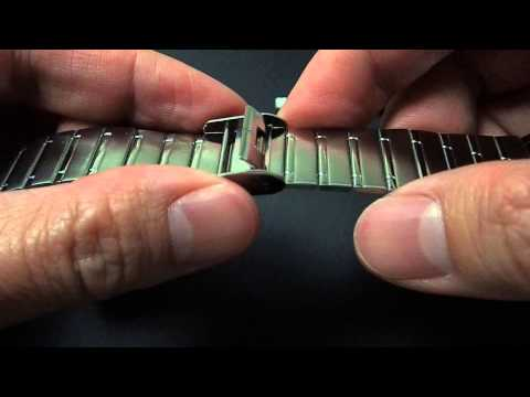 Tutorial : How to adjust Casio watch metal band