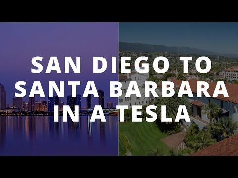 Tesla Road Trip: San Diego to Santa Barbara using the Supercharger Network