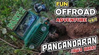 Fun Offroad 4x4 Pangandaran Jawa Barat Indonesia Part 2 2
