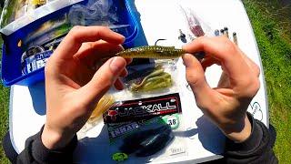 Оснащение виброхвоста двойником для ловли щуки, судака.Рыбалка.Fishing