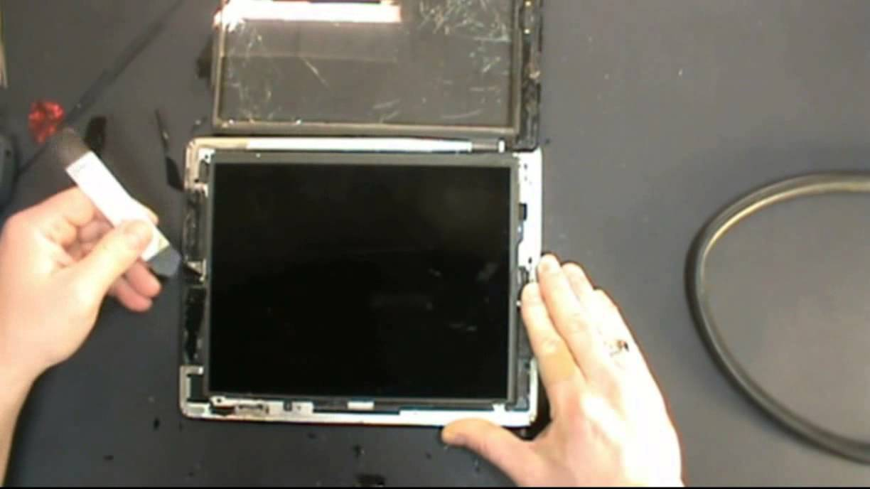 Apple iPad 2 Touch Screen Digitizer and LCD replacement