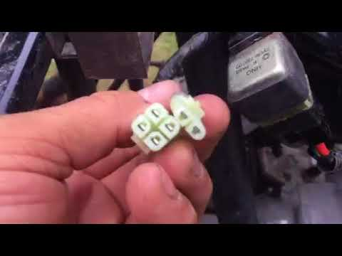 Polaris Outlaw 50- electrical problem fixed - YouTube