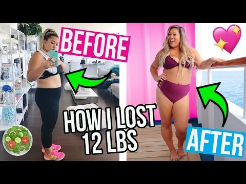 Thumbnail: HOW I LOST 12LBS! WHAT I EAT IN A DAY TO LOSE WEIGHT!!