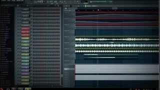Psy Trance сделано в FL Studio 10