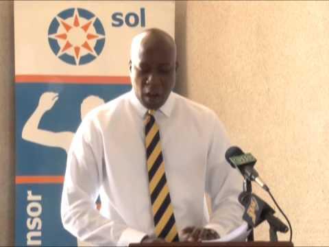 Reveal of the BVI 2014 CARIFTA Team