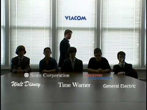 The Big Six-Media Giants.