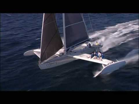 Hydroptere - world sailing record - 51 knots
