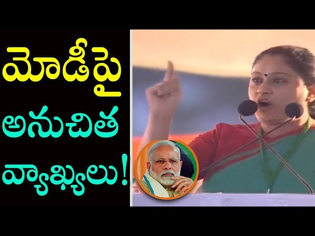 vijayshanthi claims nobody knows modi better than her