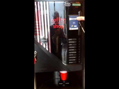Loyaltek cashless on Sodexo vending machine