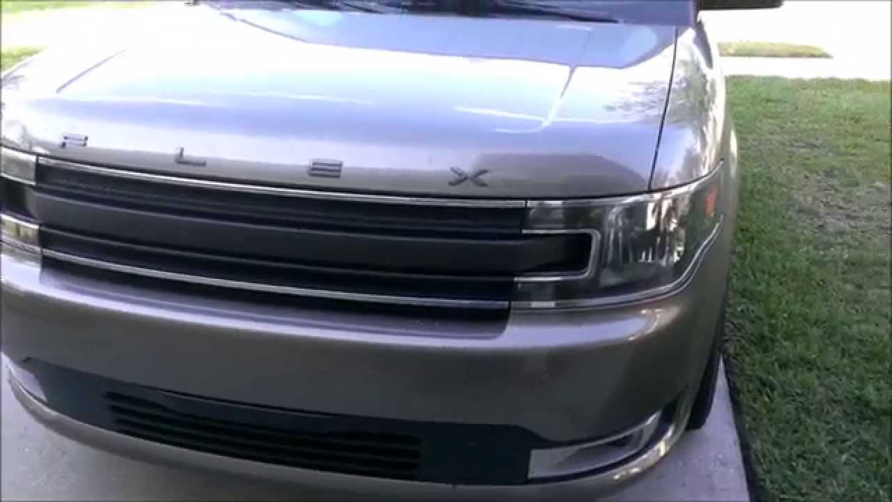2013 Ford Flex Grille Removal And Install Vid Youtube
