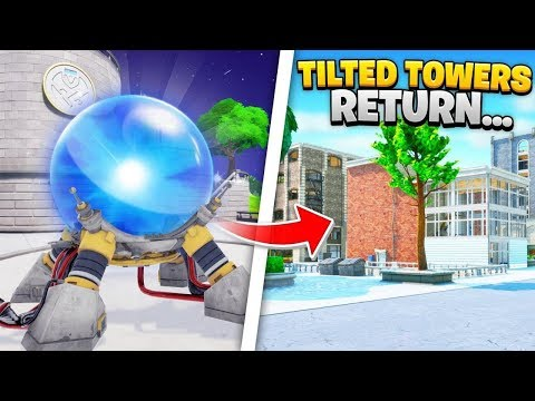 Fortnite Season 3 Tilted Towers RETURNING...