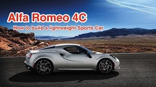Alfa Romeo 4C: Carbon Fiber Makes Alfa Romeo