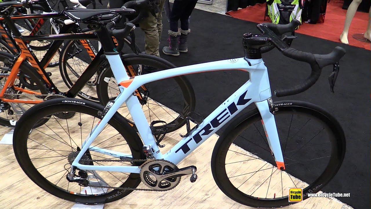 2016 Trek Madone Road Bike - Walkaround - 2016 Salon Velo Montreal ...