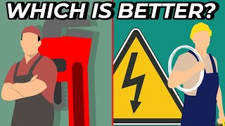 PLUMBER vs ELECTRICIAN: Which Is a Better Job?