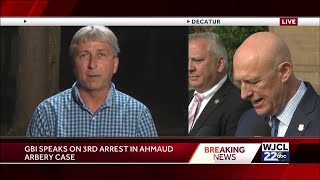 GBI press conference on 3rd arrest in Ahmaud Arbery case