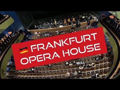 🇩🇪 Frankfurt Opera House 프랑크푸르트 오페라하우스 Oper Frankfurt 독일 Germany Deutschland 유럽여행