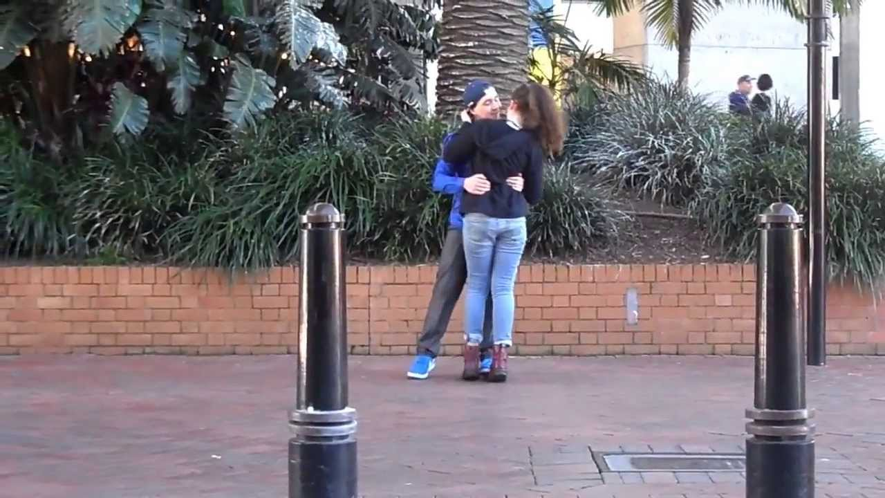 Pick up girl with boyfriend