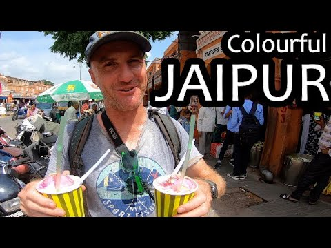 Our First Experiences In Rajasthan's Pink City   Jaipur, India (N. India Ep 5)