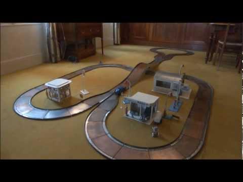 Bugatti 35 sur circuit Autoroute Louis Roussy LR auto-route slot car