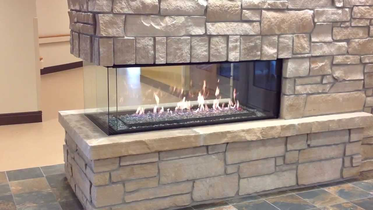 Montigo C520pfc Peninsula Fireplace By Colorado Custom
