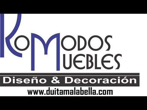 Komodos muebles duitama youtube for Komodos muebles